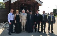 В День России представитель Патриарха Московского и всея Руси при Патриархе Антиохийском посетил российскую авиабазу Хмеймим