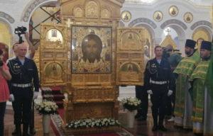 Главная икона вооруженных сил РФ «Спас нерукотворный»