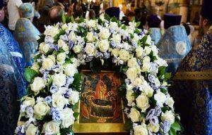 Православные празднуют Успение Пресвятой Богородицы