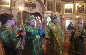 Архиереи Мурманской митрополии совершили литургию в день памяти препод. Феодорита Кольского
