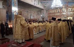 Соборная Литургия духовенства Мурманской епархии.