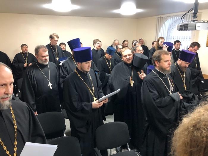 Собрание духовенства Мурманской епархии
