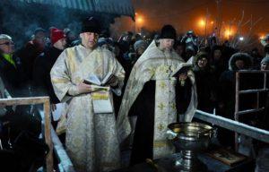На Кольском севере освящены крещенские купели