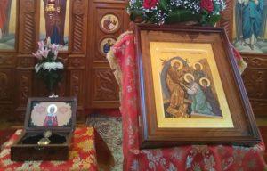 Мощи святой мученицы Валентины принесены в храм села Минькино