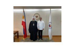 Правящий архиерей Филиппинско-Вьетнамской епархии Русской Православной Церкви встретился с министром иностранных дел Филиппин