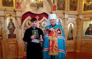 Первые награды в новом монастыре