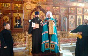 Штатный священник Свято-Вознесенского кафедрального собора награжден медалью
