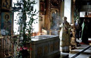 В 30-ю годовщину интронизации Святейшего Патриарха Алексия II состоялась панихида в Богоявленском кафедральном соборе г. Москвы