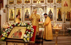 Митрополит Митрофан возглавил торжества по случаю 20-летия Владимирского храма