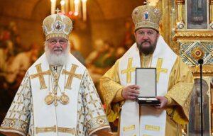 Представители Поместных Церквей при Московском Патриаршем престоле поздравили Святейшего Патриарха Кирилла с Днем Крещения Руси