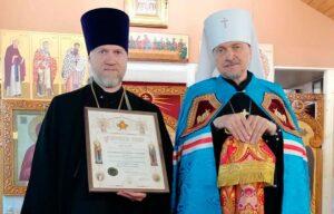 Митрополит Митрофан поздравил приход храма св.вмч.Пантелеимона с престольным праздником