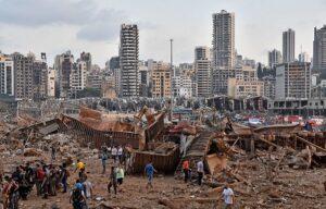 Святейший Патриарх Кирилл молится об исцелении пострадавших и упокоении погибших в результате взрыва в Бейруте