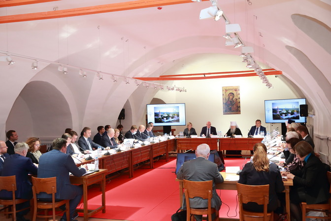 В Новодевичьем монастыре г. Москвы прошло заседание организационного комитета по подготовке и проведению празднования 500-летия основания обители