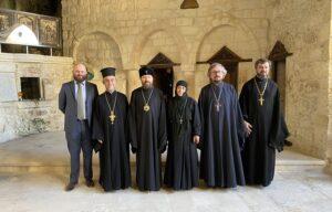 Митрополит Волоколамский Иларион посетил святыни Антиохийской Православной Церкви