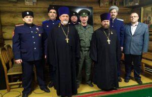 Клирики Мурманской митрополии приняли участие в видеосовещании Синодального комитета по взаимодействию с казачеством