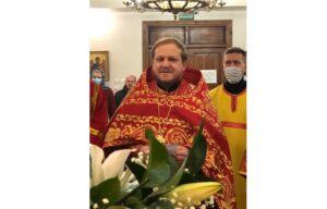 C днём тезоименитства настоятеля храма Всех Святых игумена Михаила!