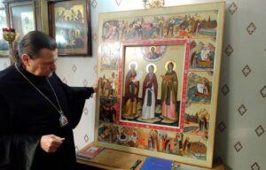 В Мурманскую епархию прибыла уникальная икона «Кольской троицы»