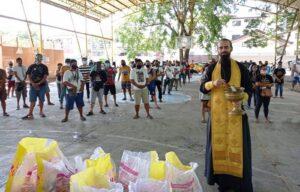 Синодальный отдел по благотворительности помогает пострадавшим от тайфуна на Филиппинах