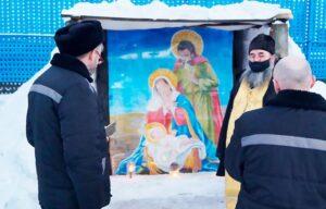 В праздник Рождества Христова священнослужители посетили мурманские колонии