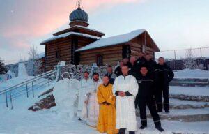 В ревдинской колонии заключенные оборудовали крещенскую купель