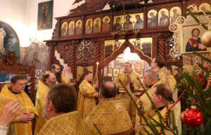 Архиерейское богослужение в древнейшей Коле