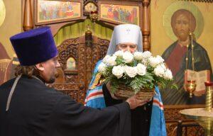 Духовенство и миряне поздравили Архипастыря со второй годовщиной назначения на Мурманскую кафедру