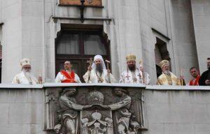 Состоялась интронизация Святейшего Патриарха Сербского Порфирия