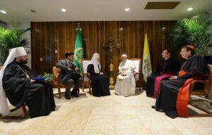 Представители Русской Православной Церкви приняли участие в онлайн-конференции, посвященной пятой годовщине встречи Святейшего Патриарха Кирилла с Папой Римским Франциском в Гаване