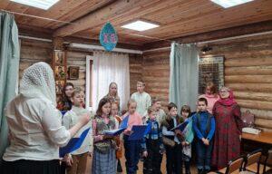 В детской воскресной школе храма Всех Святых прошел праздник