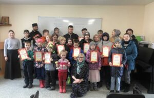 23 мая 2021 года на приходе Свято- Никольского собора города Мурманска прошёл Детский праздник