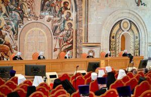 Митрополит Митрофан принял участие в пленуме Межсоборного присутствия Русской Православной Церкви