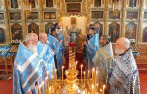 Состоялись торжества по случаю 75-летия основания Хибиногорского благочиния