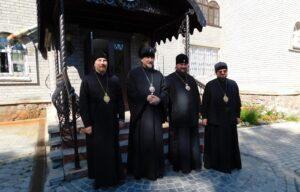Митрополит Митрофан встретился с архиереями из Костромы и Галича