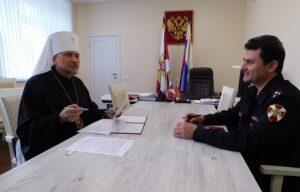 Мурманская епархия и Управление Росгвардии подписали соглашение о сотрудничестве