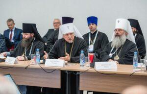 Митрополит Митрофан принял участие в Международном форуме «Россия – спортивная держава»