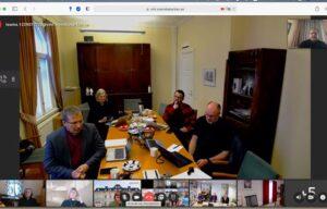 В дистанционном формате состоялось заседание Совета по сотрудничеству Христианских Церквей Баренцева региона