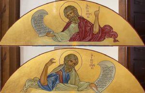 Две последние иконы для иконостаса приобретены. Благодарим!