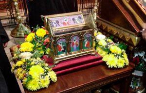 В храм Спаса на водах внесена святыня уровня Вселенской Церкви