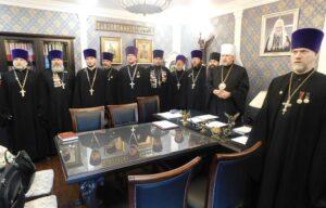 Митрополит Митрофан возглавил заседание Епархиального совета