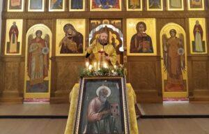 Божественная Литургия в день памяти св. апостола и евангелиста Иоанна