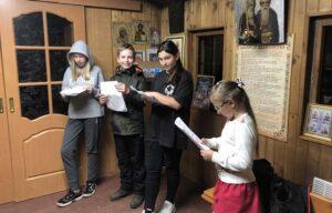 Творческий коллектив учащихся, преподавателей и родителей нашей воскресной школы готовит музыкально- литературную композицию